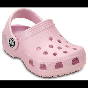 Crocs Pink Size 6 Toddler
